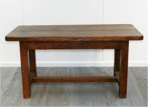 French rustic elm kitchen table haunt antiques for the modern