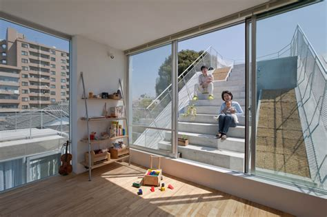 slide house slide house by komada architects spoon tamago