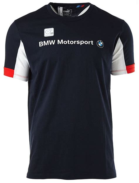 Tshirt Bmw Sport New Ukm01 tricolour bmw motorsport logo t shirt in black