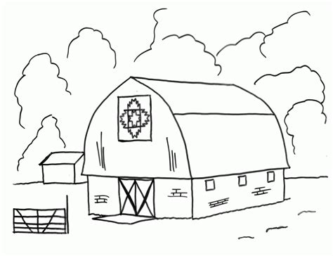 barn coloring pages barn printable coloring pages coloring home