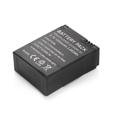 Baterai Gopro Hd 3 Ahdbt 301 201 Black Cs3gbk 3 7v ahdbt 201 301 li ion battery for white black edition