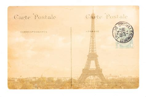 printable paris postcards old postcard template 15 free psd vector eps ai