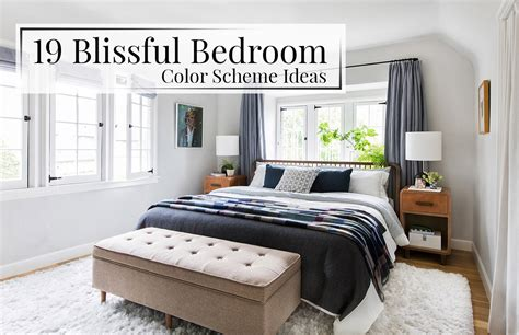 blissful bedroom color scheme ideas  luxpad