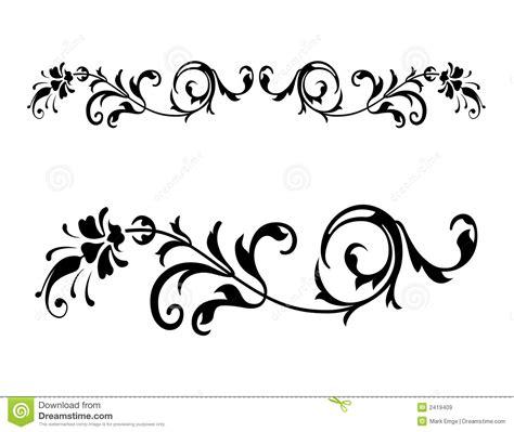 imagenes libres svg vector floral 2 del renacimiento