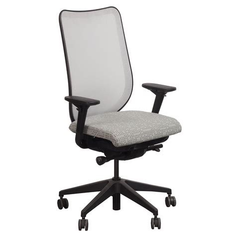 hon nucleus task chair hon nucleus used mesh back task chair seat dotty pewter
