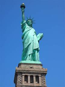 what color is the statue of liberty black sw cornucopia visiting the statue of liberty