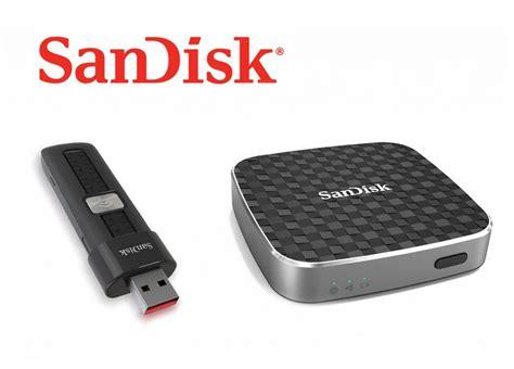 Sandisk Wireless sandisk introduces wireless flash storage drives the gadgeteer