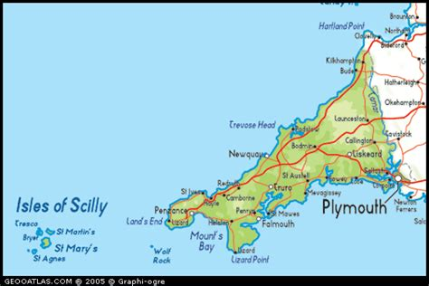 isles map isles of scilly map