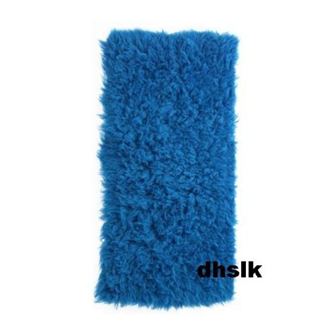ikea shag rug ikea flokati wool rug area throw mat blue shag gorgeous