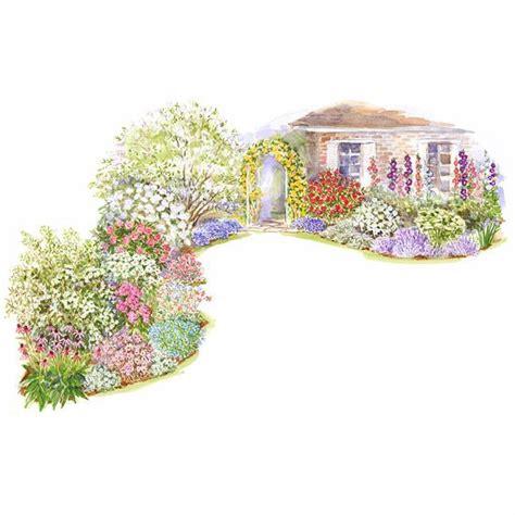 cottage garden plan colorful front yard garden plans