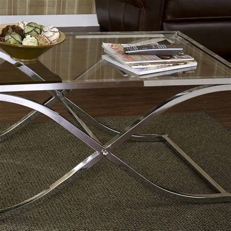 appliances gadget metal and glass coffee tables with