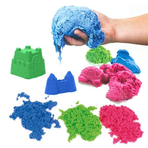Mainan Edukatif Pasir Ajaib Magic Sand Kinetic Sand Truck Model pasir kinetik refill 500 gram magic play sand ajaib mainan edukatif anak kinetic sand elevenia