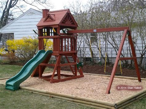 Backyard Creations Warranty Gorilla Nantucket Playset Playset Swing Set Assembly