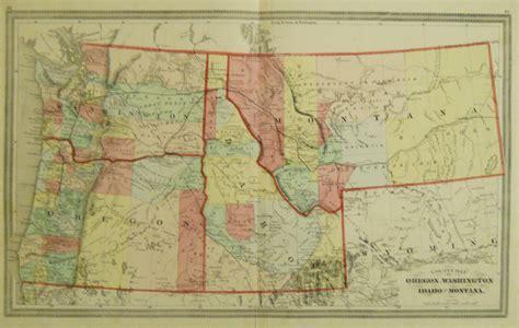 map of oregon mt hh lloyd county map of oregon washington idaho and