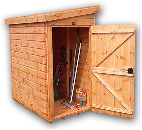 Tool Shed by Treetops Traditional Narrow Tool Shed Quality Timber Garden Shed