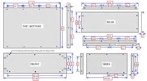 diyaudio rack cabinets chassis dimensions