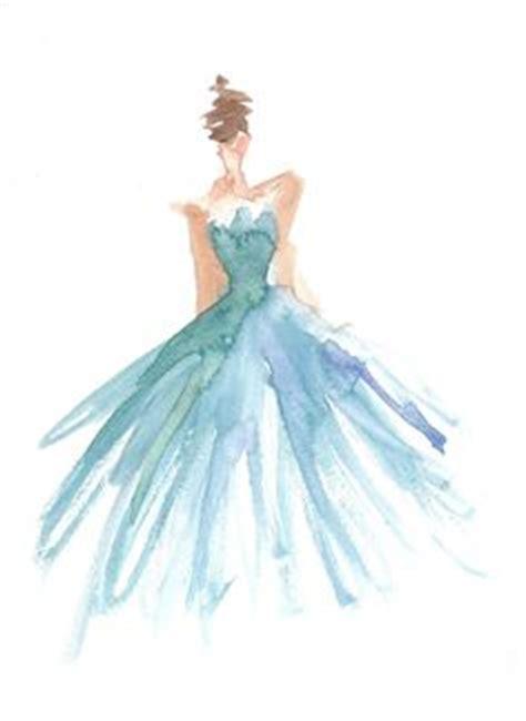 watercolor dress tutorial flower crown watercolor girl blumenm 228 dchen aquarell