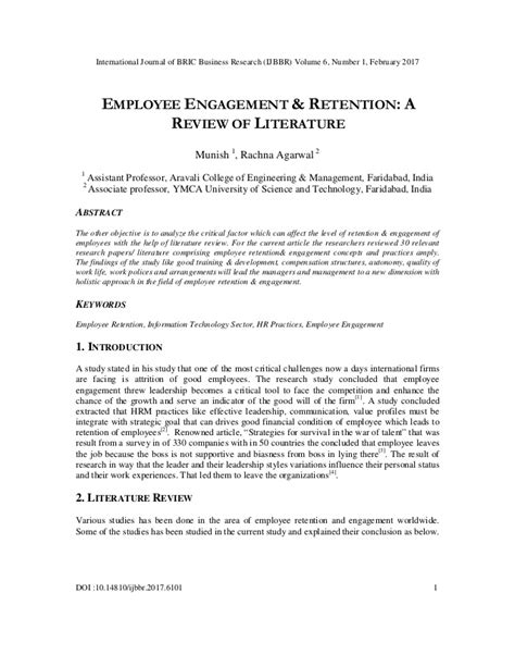 thesis on employee retention strategies literature review on employee retention strategies