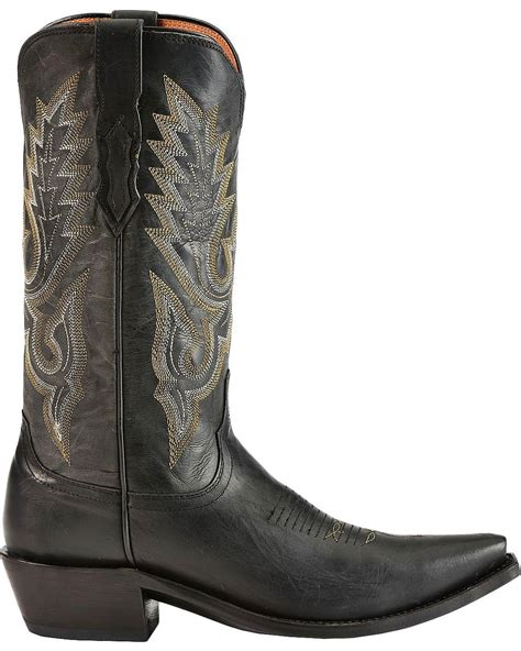 mens snip toe boots lucchese s handcrafted 1883 madras goat cowboy boot
