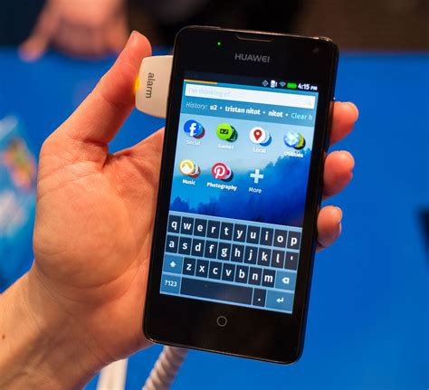y300 mobile huawei takes the firefox os plunge with the y300 pictures