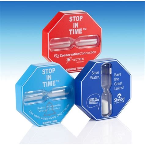 shower timer encourage efficient showering with the stop in time shower