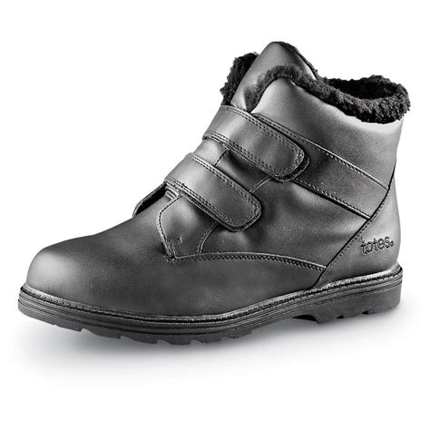 totes mens boots totes s waterproof snow boots 32709 winter snow