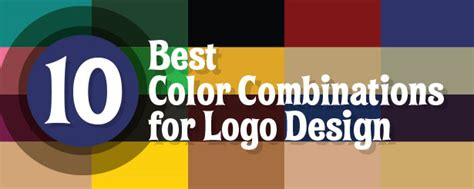 best colors 10 best 2 color combinations for logo design with free