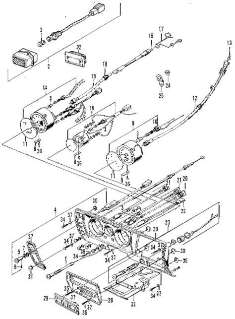 honda store 1971 z600 instruments parts