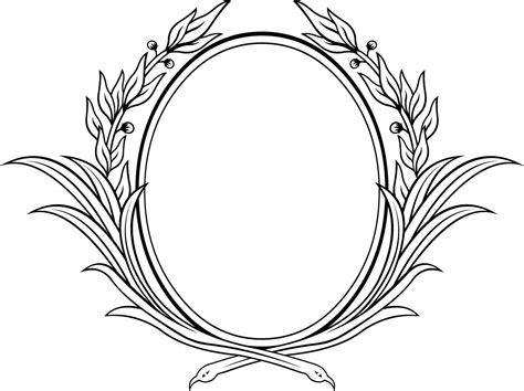how to create a vector decorative frame in illustrator classic frame drawing www pixshark com images