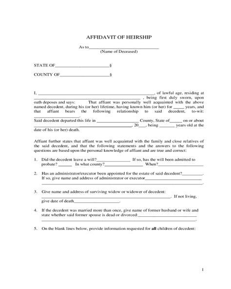 Affidavit Of Heirship Sle Template Edit Fill Sign Online Handypdf Manufacturer S Affidavit Template Fillable