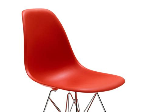 eames wire side eames 174 molded plastic side chair with wire base