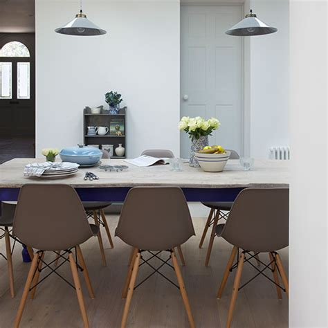 grey dining room neutral dining room with grey chairs decorating ideal home