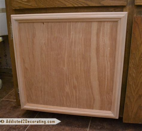 How To Build Cabinet Door Bathroom Makeover Day 3 How To Make Cabinet Doors Without Using Special Tools