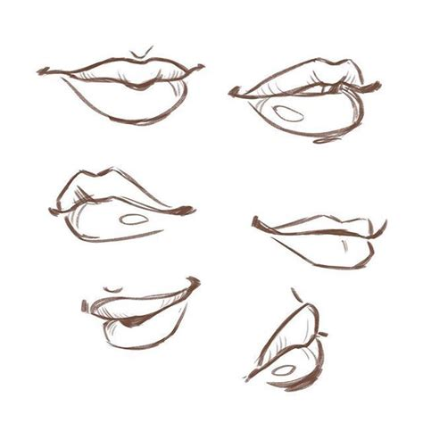 Drawing Mouths by Parts Challenge Day 23 Quot Parts