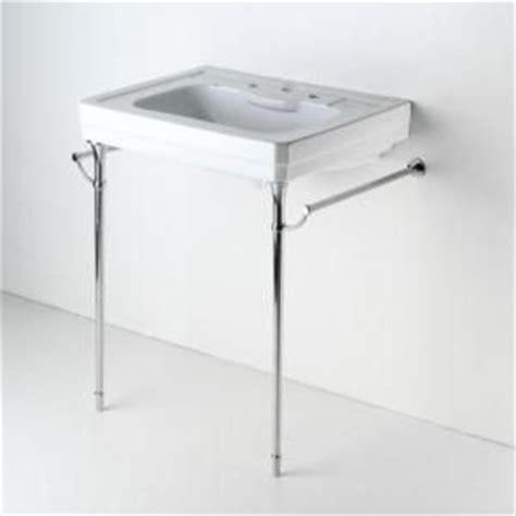 Bathroom Sink Wall Mount Bracket by Chrome Sink Legs And Brackets For Your Wall Mount Sink