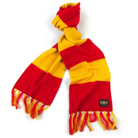 and yellow king football scarf