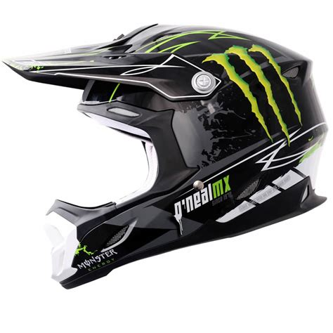 monster motocross helmet oneal 712 monster energy moto scooter motocross casque
