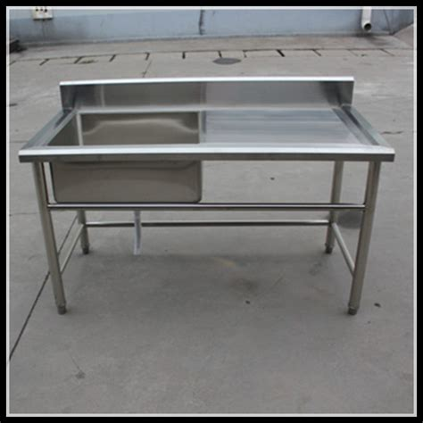 Ss Kitchen Sink Manufacturers Manufacturer One Sink Inox Table Stainless Steel Kitchen Working Sink Table For Restaurant Buy