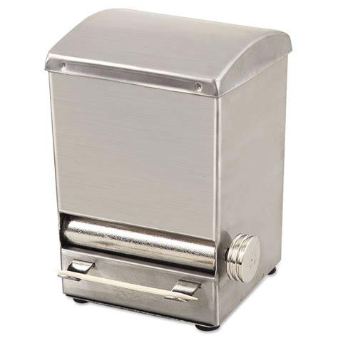 browne foodservice hltd5 stainless steel toothpick dispenser browne altd5 toothpick dispenser 18 8 stainless steel