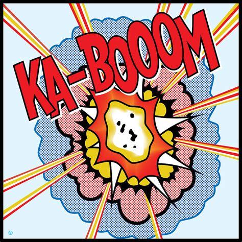 Book Duvet Cover Ka Booom Painting By Gary Grayson