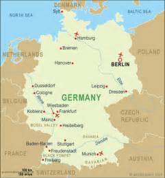 Cities In Germany by Germany