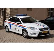 Grand Ducal Police Car Ford In Luxembourg Cityjpg