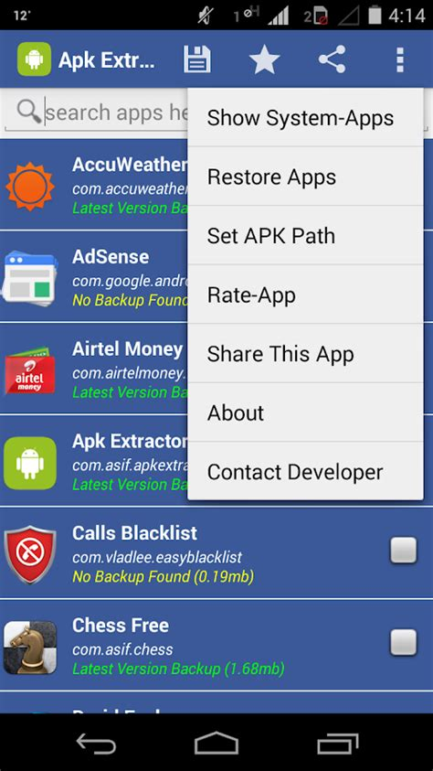 apk backup apk extractor app backup android apps on play