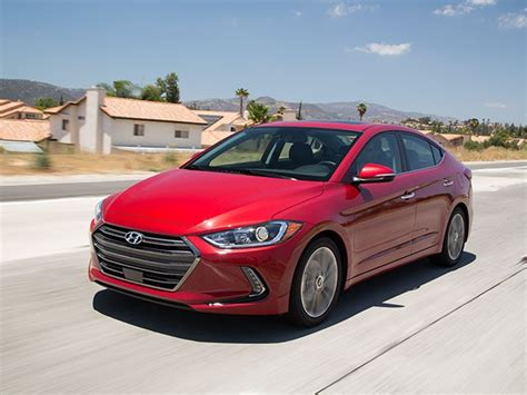 compact cars compact car comparison 2017 hyundai elantra kelley blue