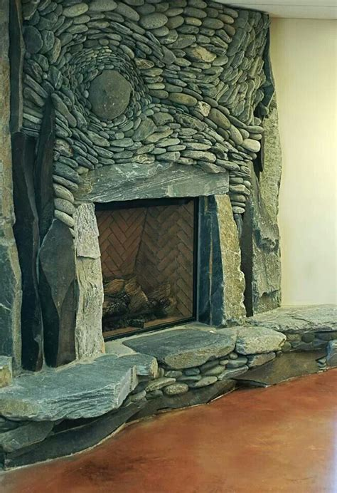 natural stone fireplace natural stone fireplace game room addition pinterest