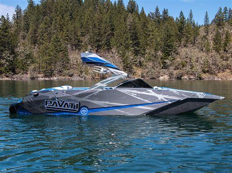 pavati wake boats for sale 2018 blue gray pavati al24 pavati 100 aluminum wake boats