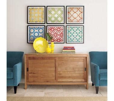 crate and barrel home decor crate and barrel classical symmetry print set of six