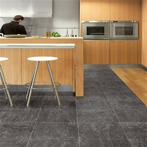 black laminate kitchen flooring for home