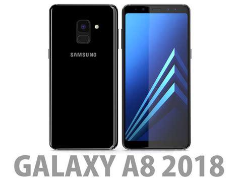 Samsung Galaxy A8 2018 Black samsung galaxy a8 2018 black 3d cgtrader