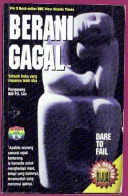 Berani Gagal To Fail Billi Lim books category motivation